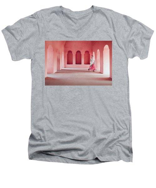 The Pilgrim Men's V-Neck T-Shirt