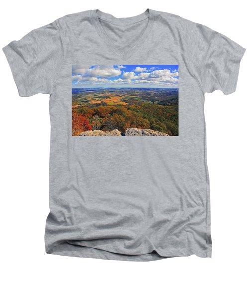 The Pinnacle On Pa At Men's V-Neck T-Shirt