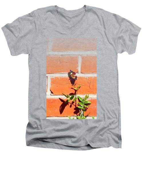 Men's V-Neck T-Shirt featuring the photograph The Poetry Of Ordinary Things by Ivana Westin