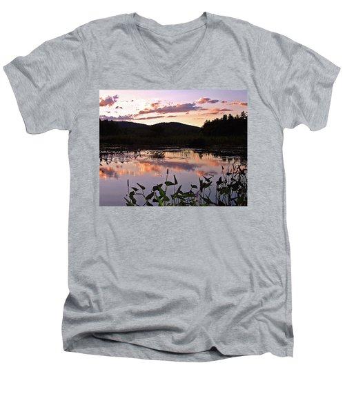 The Poetry Of Twilight Men's V-Neck T-Shirt