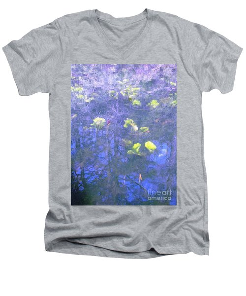 The Pond 1 Men's V-Neck T-Shirt