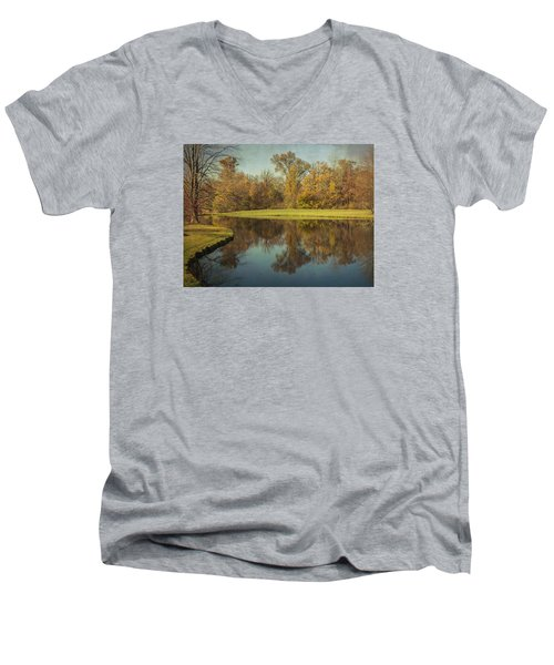 The Pond Men's V-Neck T-Shirt
