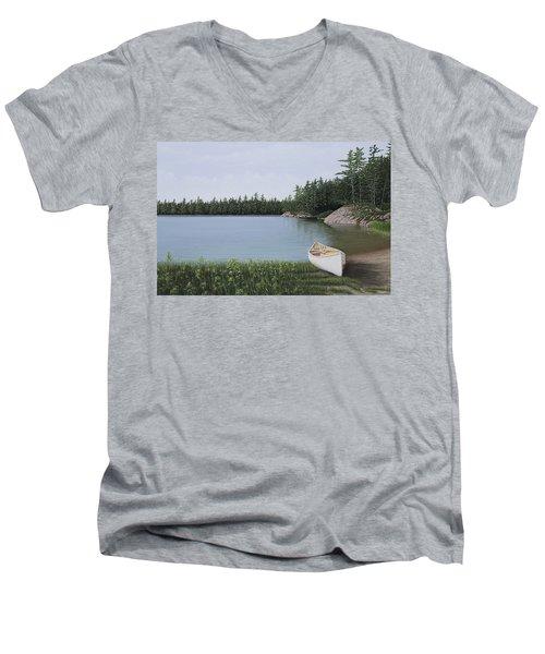 The Portage Men's V-Neck T-Shirt