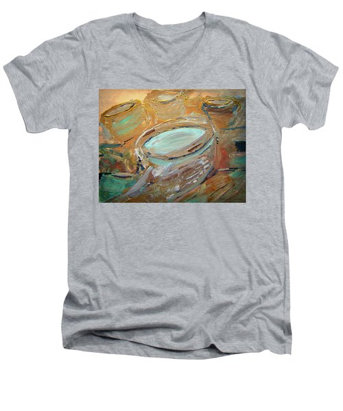 The Potter Canvas Men's V-Neck T-Shirt