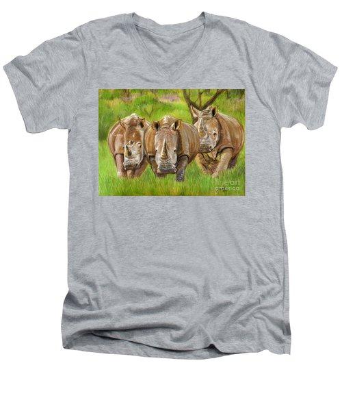 The Power In Three Men's V-Neck T-Shirt