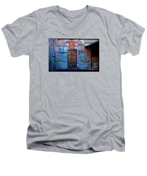 The Power Of City Men's V-Neck T-Shirt