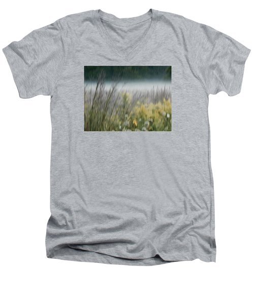 The Prairie Awakens Men's V-Neck T-Shirt by Tim Good
