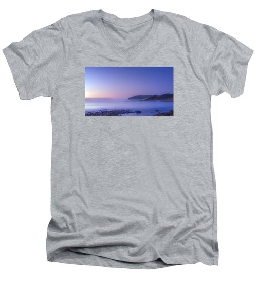 The Predawn Mist Men's V-Neck T-Shirt