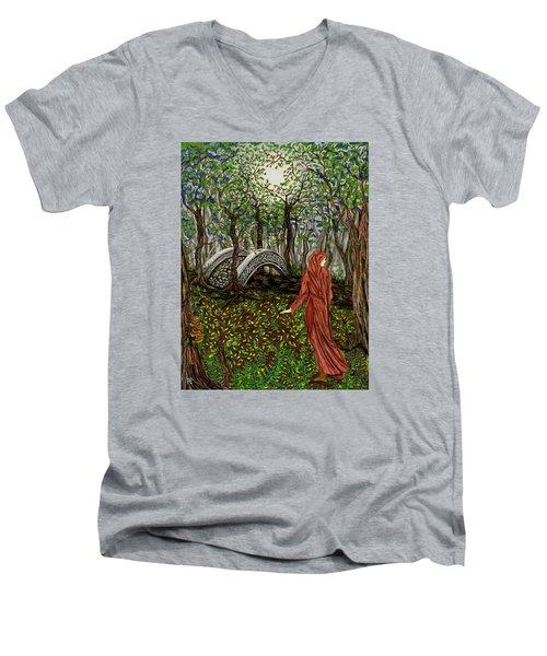 The Priestess Of Ealon Men's V-Neck T-Shirt