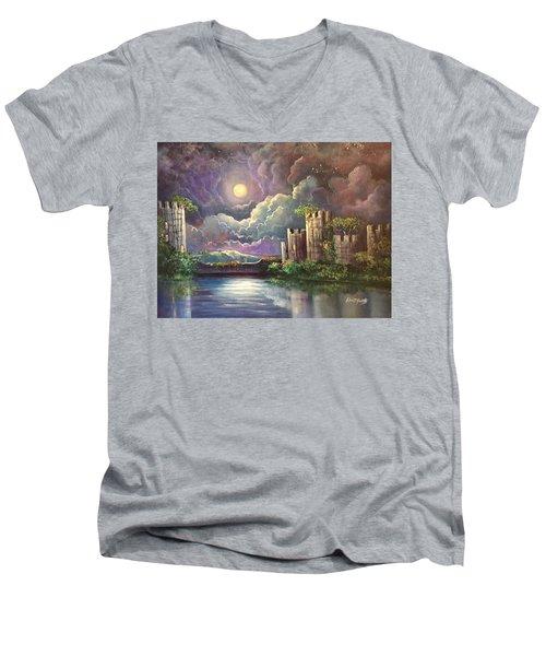 The Proposal Men's V-Neck T-Shirt by Randy Burns