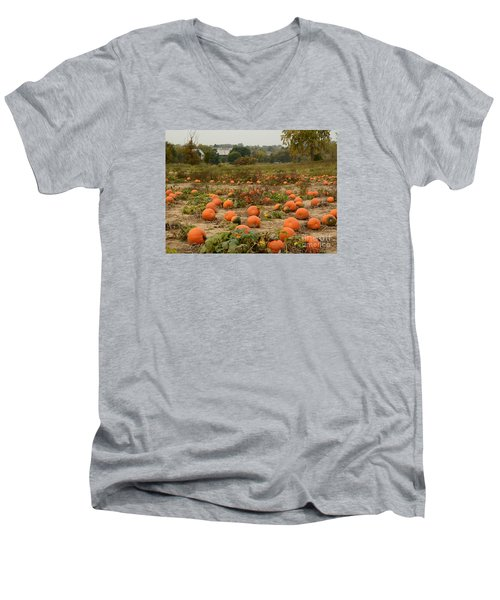 The Pumpkin Farm Two Men's V-Neck T-Shirt