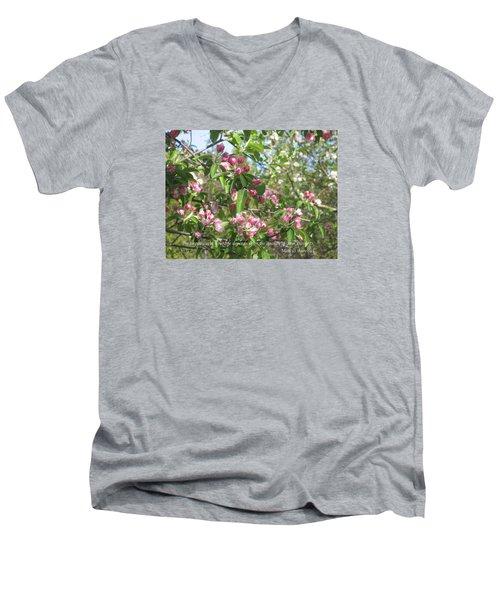 The Quality Of Your Thoughts Men's V-Neck T-Shirt by Deborah Dendler