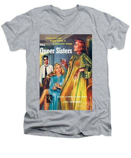 The Queer Sisters Men's V-Neck T-Shirt