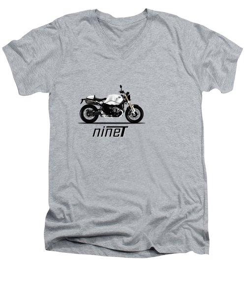 The R Nine T Men's V-Neck T-Shirt by Mark Rogan