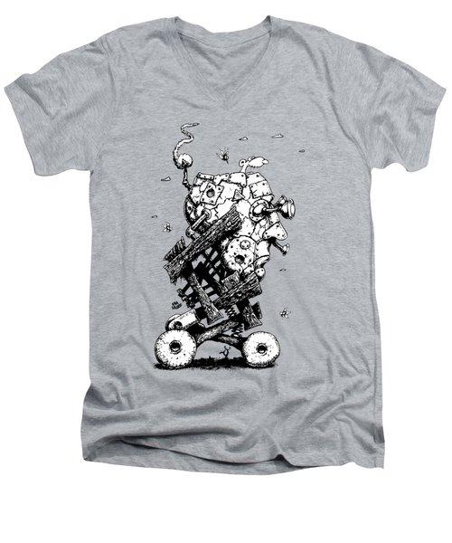 The Ratmobile Men's V-Neck T-Shirt