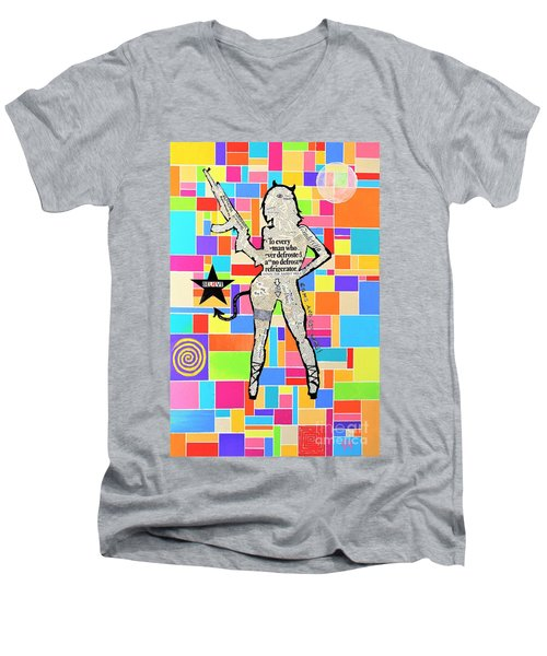 The Rebel Men's V-Neck T-Shirt