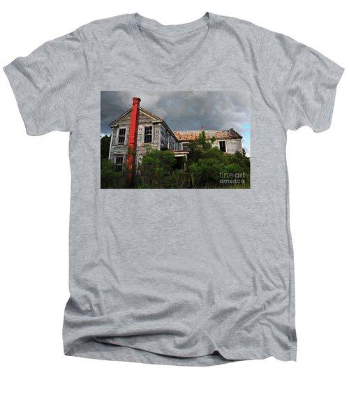 The Red Chimney Men's V-Neck T-Shirt