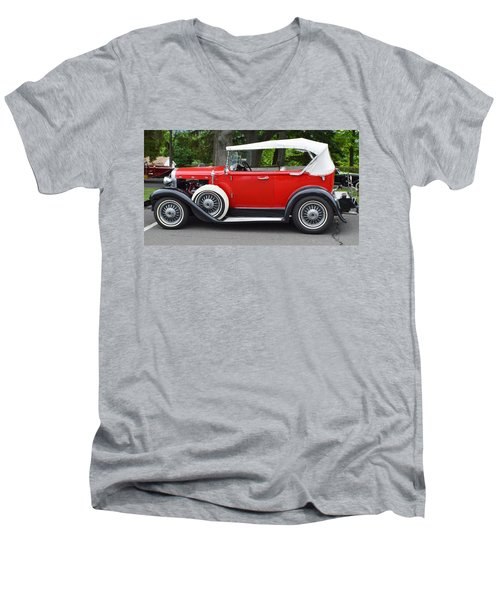 The Red Convertible Men's V-Neck T-Shirt