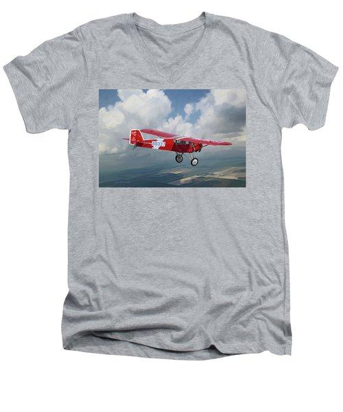 The Red Red Robin Men's V-Neck T-Shirt