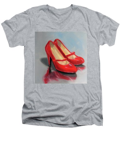The Red Shoes Men's V-Neck T-Shirt