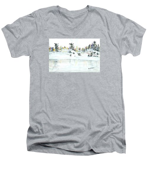 The Reflection Lake Men's V-Neck T-Shirt