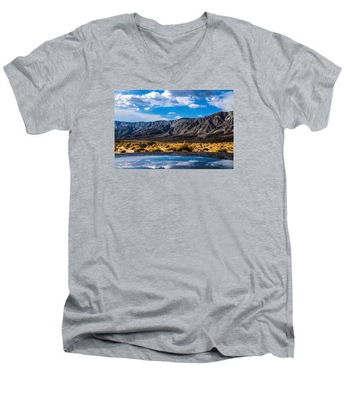 The Reflection On The Roof Men's V-Neck T-Shirt