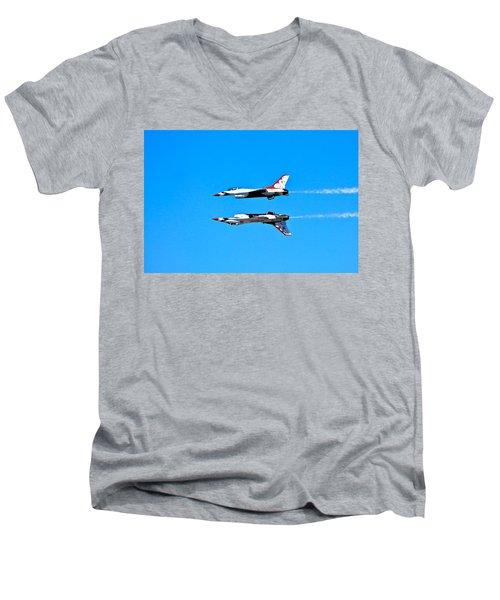 The Reflection Pass Men's V-Neck T-Shirt
