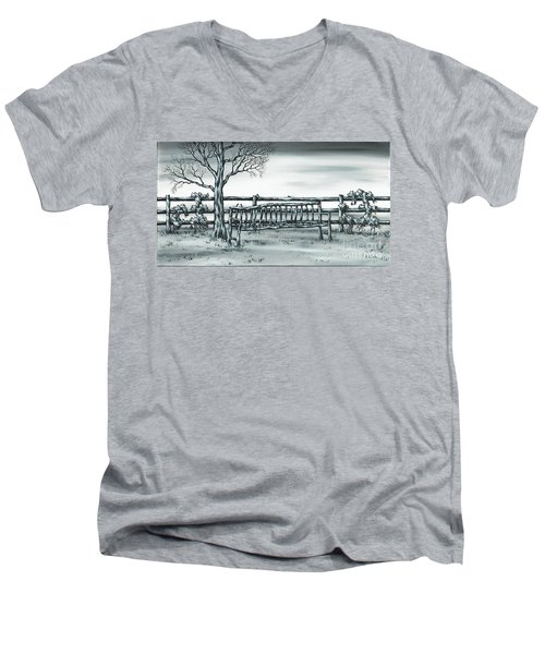 The Rematch Men's V-Neck T-Shirt