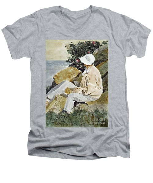 The Respite Men's V-Neck T-Shirt