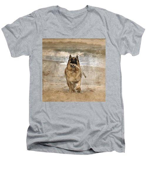 The Retrieve Men's V-Neck T-Shirt