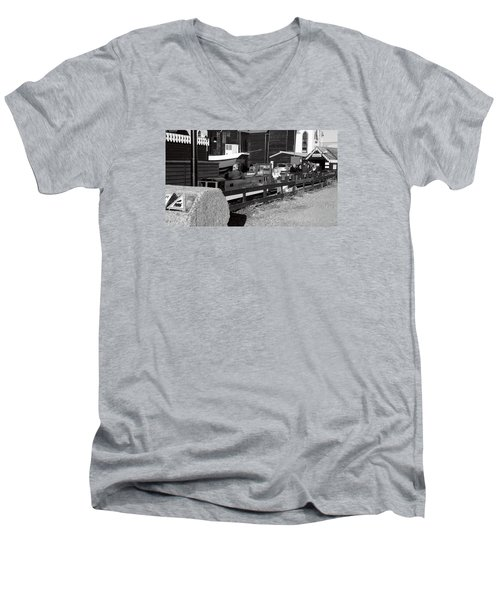 The Ride Men's V-Neck T-Shirt
