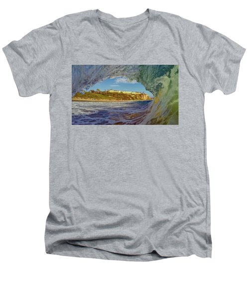 Men's V-Neck T-Shirt featuring the photograph The Ritz Fitz by Sean Foster