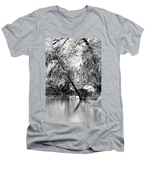 The River Filtered Men's V-Neck T-Shirt