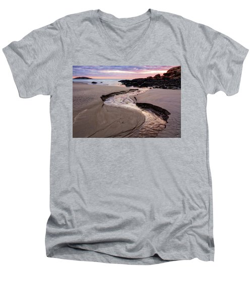 The River Good Harbor Beach Men's V-Neck T-Shirt