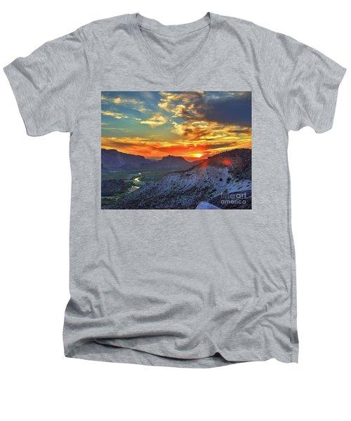 The Road To Presidio Men's V-Neck T-Shirt
