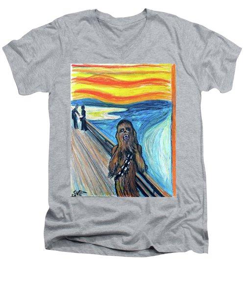 The Roar Men's V-Neck T-Shirt