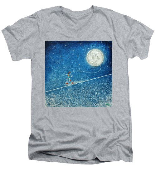 The Robbery Of The Moon Men's V-Neck T-Shirt