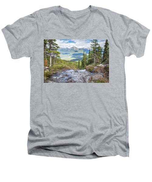 The Rockies Men's V-Neck T-Shirt