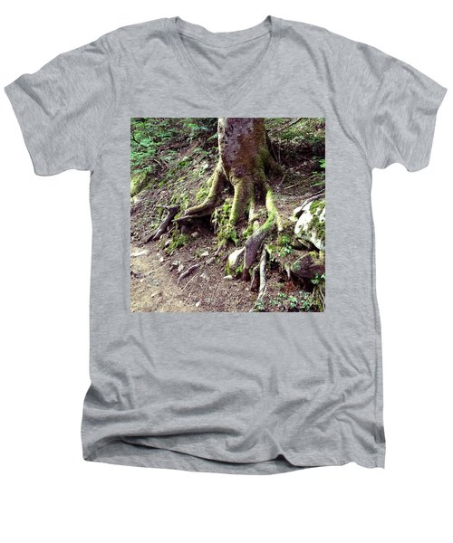 The Root Of The Matter Men's V-Neck T-Shirt