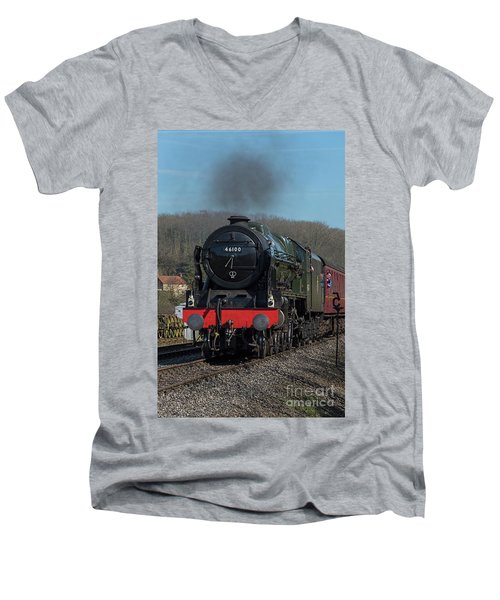 The Royal Scot 1 Men's V-Neck T-Shirt