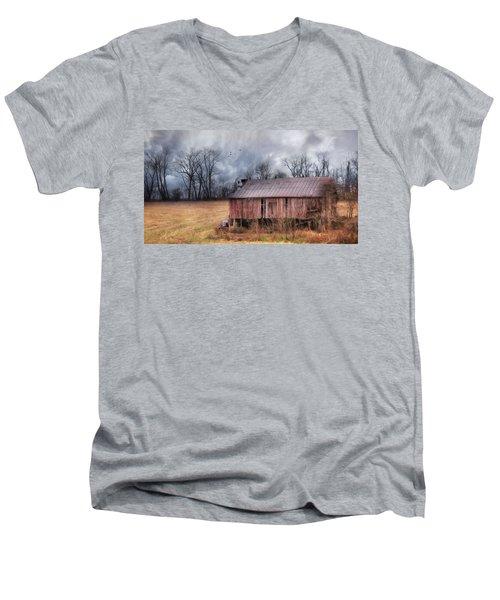 The Rural Curators Men's V-Neck T-Shirt by Lori Deiter