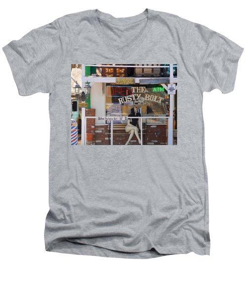 The Rusty Bolt - Seligman, Historic Route 66 Men's V-Neck T-Shirt