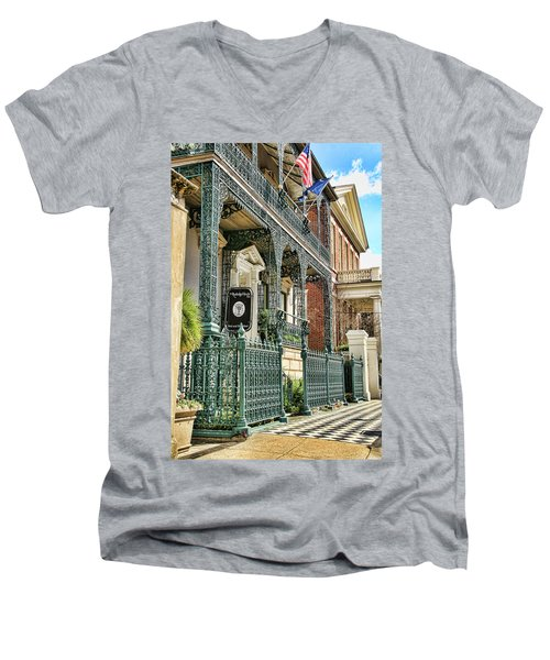 The Rutledge House Men's V-Neck T-Shirt