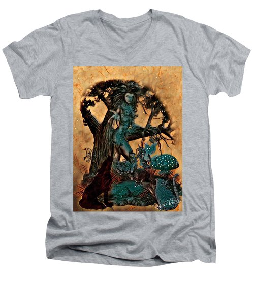 The Sacred Waters Men's V-Neck T-Shirt