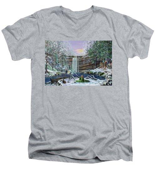 The Saving Of Guinevere Men's V-Neck T-Shirt