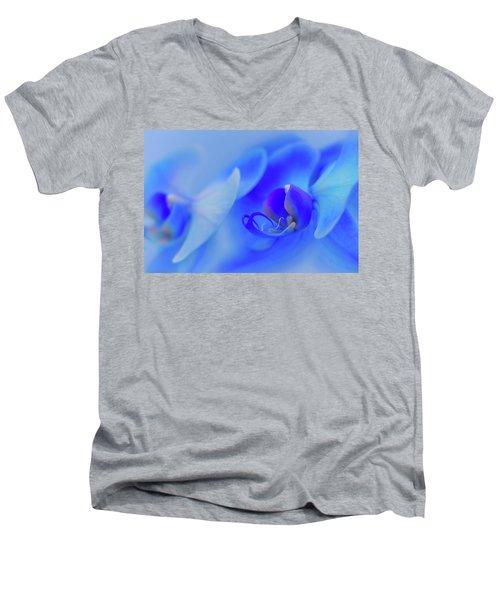 The Scent Of Blue Mystique Men's V-Neck T-Shirt