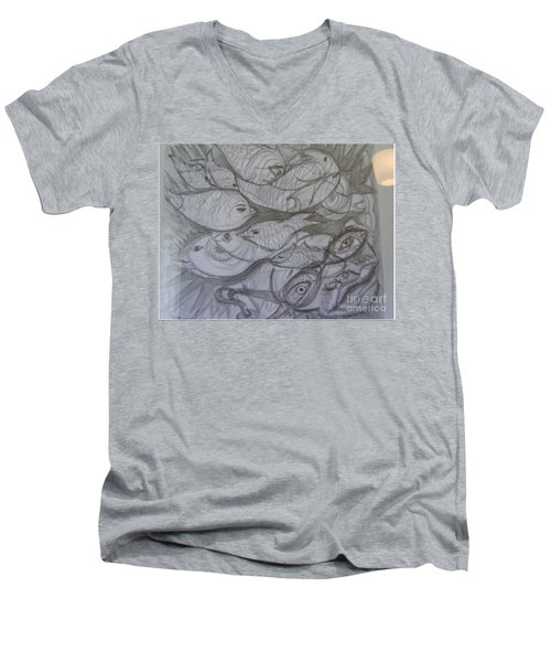 The Sea Diver Men's V-Neck T-Shirt