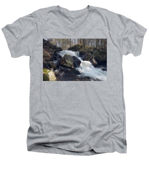 The Secret Waterfall 1 Men's V-Neck T-Shirt