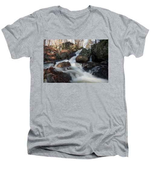 The Secret Waterfall 2 Men's V-Neck T-Shirt