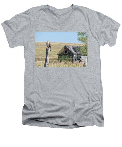 The Sentinel Men's V-Neck T-Shirt